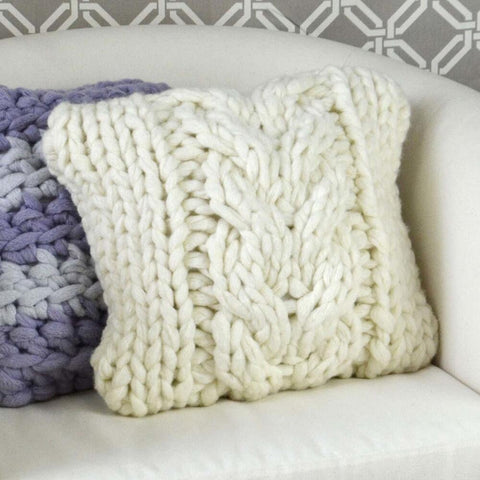 Premier® Couture Cable Pillow