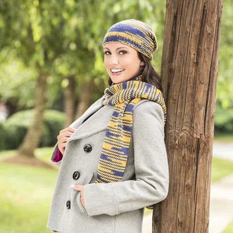 Deborah Norville Cheer Them On Hat & Scarf Free Download
