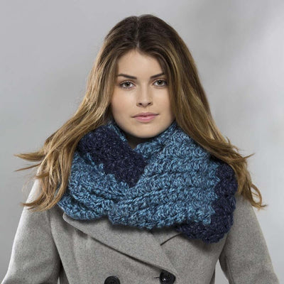 Premier® Diagonal Shells Cowl Free Download