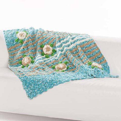 Premier® Lacy Fan Dishcloth Free Download