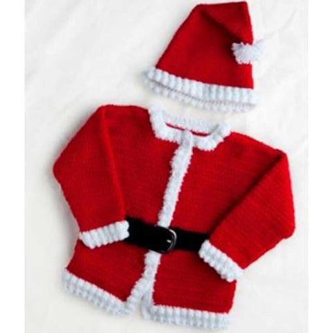 Premier® Santa Jacket and Cap Crochet Pattern Free Download
