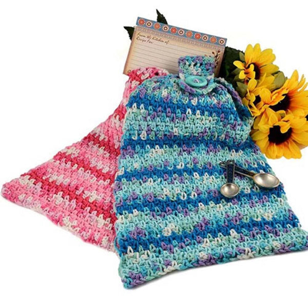 Premier® Crochet Kitchen Towels Free Download