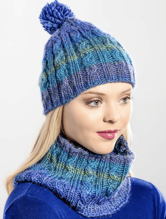Premier® Serpentine Hat and Cowl