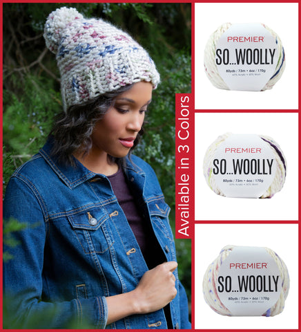 Premier® So Woolly Winter Beanie Kit - EXCLUSIVE