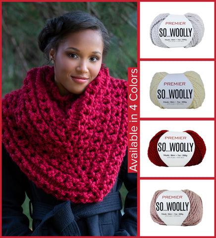 Premier® So Woolly Reverie Shawl Kit - EXCLUSIVE
