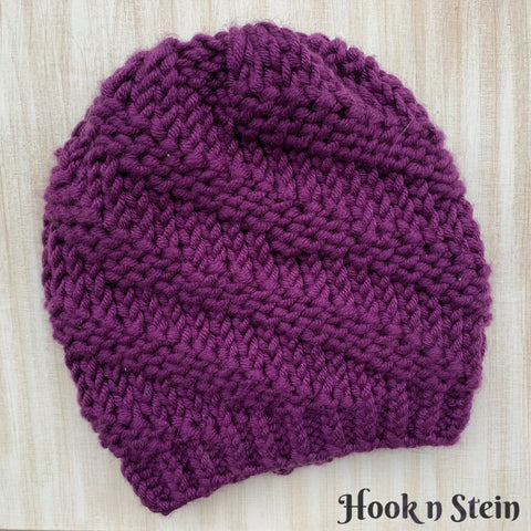 Twisted Rib Hat & Cowl