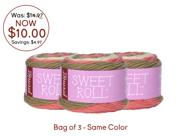 Premier Sweet Roll® Select Colors - Bag of 3 Same Color