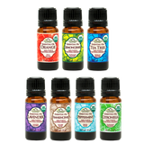 7 Essential Oil Collection, USDA Certified Organic. Therapeutic Grade.