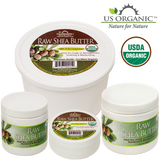 100% Pure Certified USDA Organic - Raw Shea Butter 8 oz