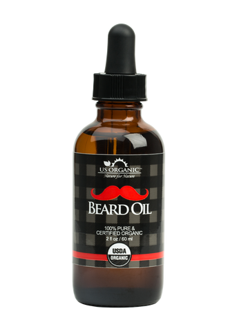Beard Oil 2oz - Premium Grade, Natural Antimicrobial Properties