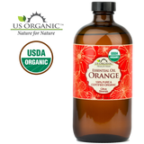 100% Pure Certified USDA Organic - Sweet Orange Essential Oil
