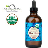 100% Pure Certified USDA Organic - Tea Tree Essential Oil
