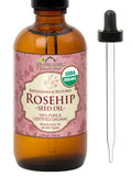 100% Pure Certified USDA Organic - Rosehip Oil 4 oz