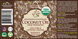 100% Pure Certified USDA Organic - Fractionated Coconut (Liquid) Oil (8 oz)