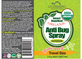 Anti Bug Spray - Travel Size 2 oz