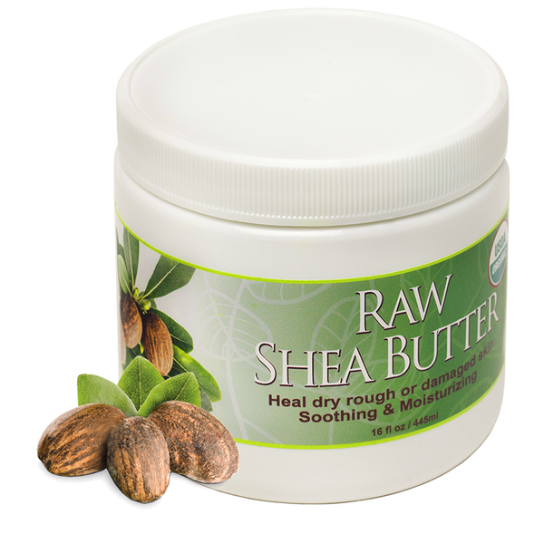 100% Pure Certified USDA Organic - Raw Shea Butter 16 oz