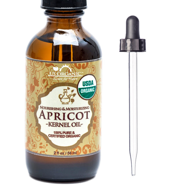 100% Pure Certified USDA Organic - Apricot Kernel Oil
