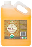 100% Pure Certified USDA Organic - Apricot Kernel Oil 128 oz (1 Gallon)