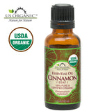 100% Pure Certified USDA Organic - Cinnamon Leaf Essential Oil