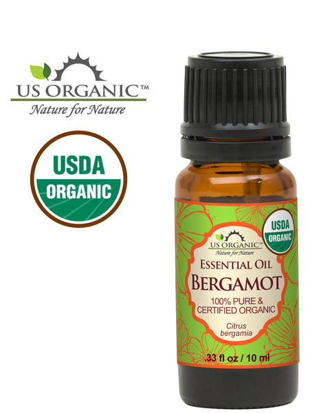 100% Pure Certified USDA Organic - Bergamot Essential Oil