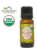 100% Pure Certified USDA Organic - Eucalyptus Essential Oil (Radiata)