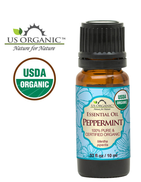 100% Pure Certified USDA Organic - Peppermint Essential Oil
