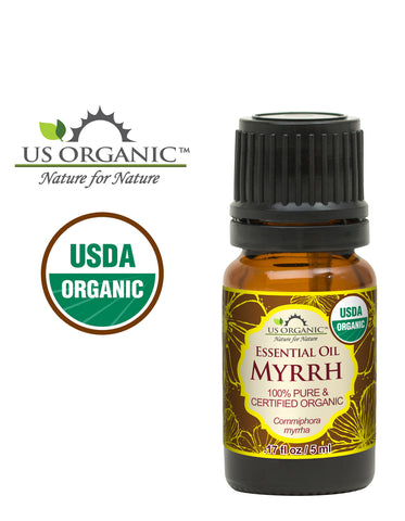 100% Pure Certified USDA Organic - Myrrh Essential Oil_5ml