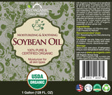 100% Pure Certified USDA Organic - Soybean Oil 128 oz (1 Gallon)