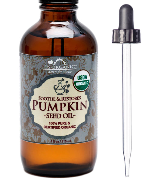 100% Pure Certified USDA Organic - Pumpkin Seed Oil 4 oz