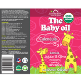 The Baby Oil - Caribbean Coconut 5 oz
