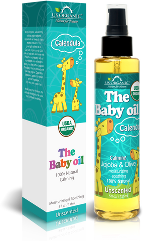 The Baby Oil - Unscented 5 oz