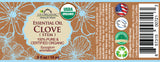 100% Pure Certified USDA Organic - Clove Stem  Essential Oil