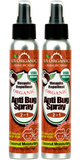 Anti Mosquito Spray - 2 in 1 - with Coconut Oil - 4 oz