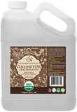 100% Pure Certified USDA Organic - Fractionated Coconut (Liquid) Oil 128 oz (1 Gallon)