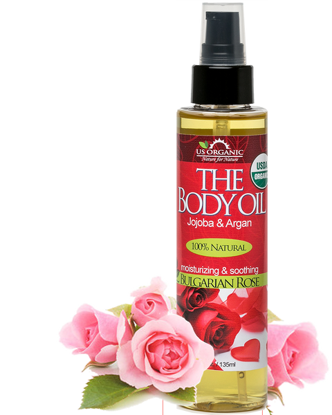 The Body Oil - Bulgarian Rose 5 oz