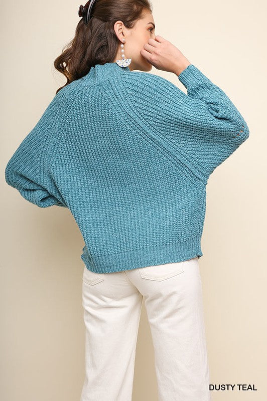 'For the Love Of' Cable Knit Sweater