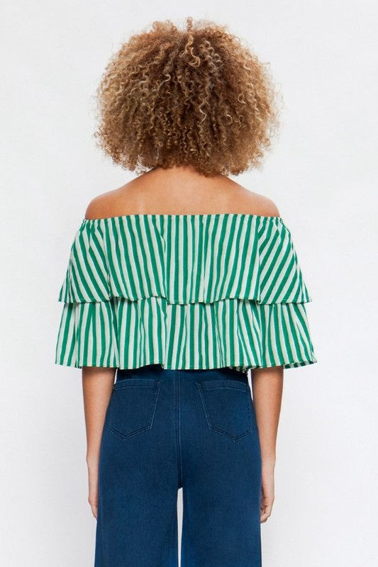'Green With Envy' Top