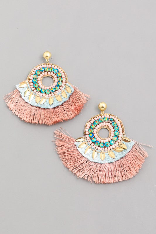 'French Quarter' Fringe Earrings