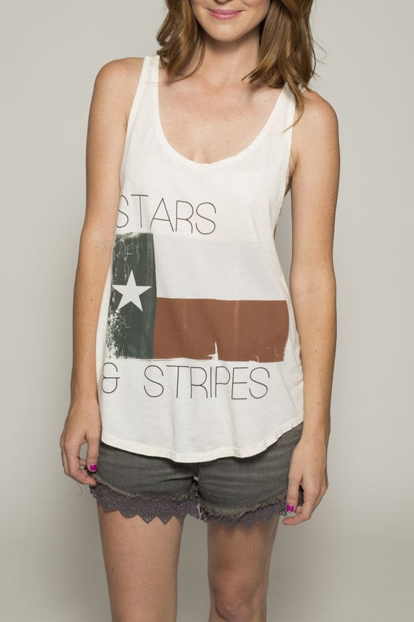 'Stars & Stripes' Hallie Tank