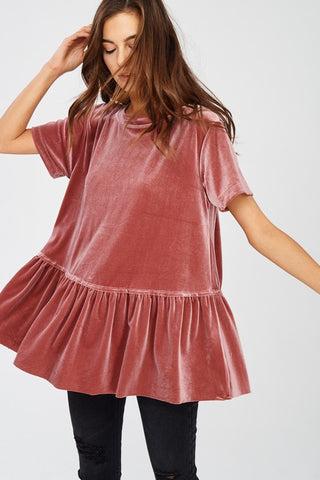 'Dream On' Baby Doll Top