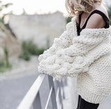 'Winter is Coming' Oversized Chunky Sweater
