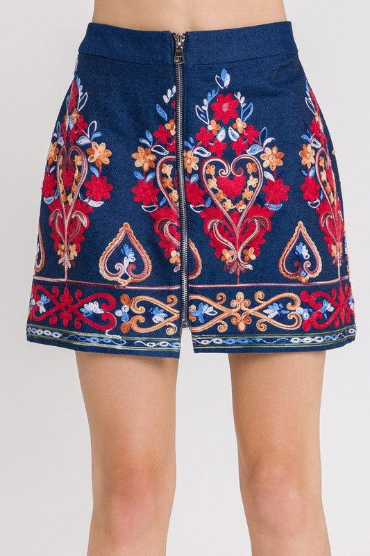 'My Denim Heart' Skirt