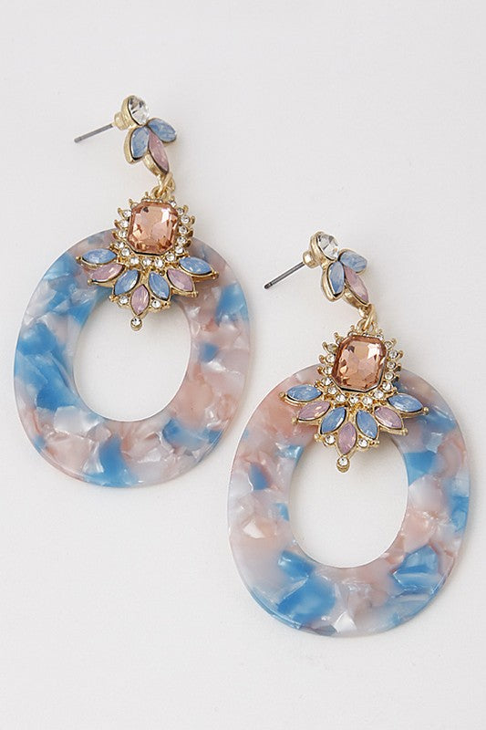 'Something Blue' Earrings