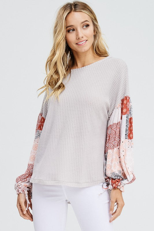 'Sweet Talk' Dolman Sleeve Top