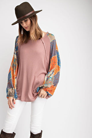 'Dusk' Avril Blouse