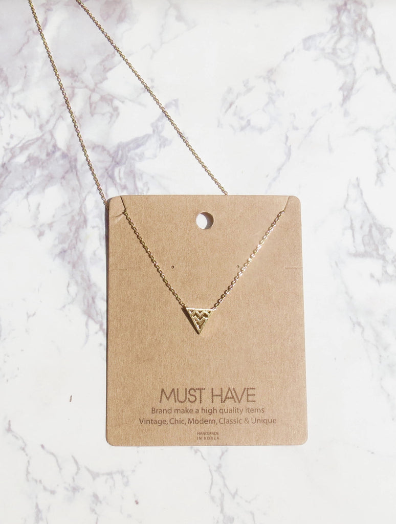 'Follow Your Arrow' Necklace