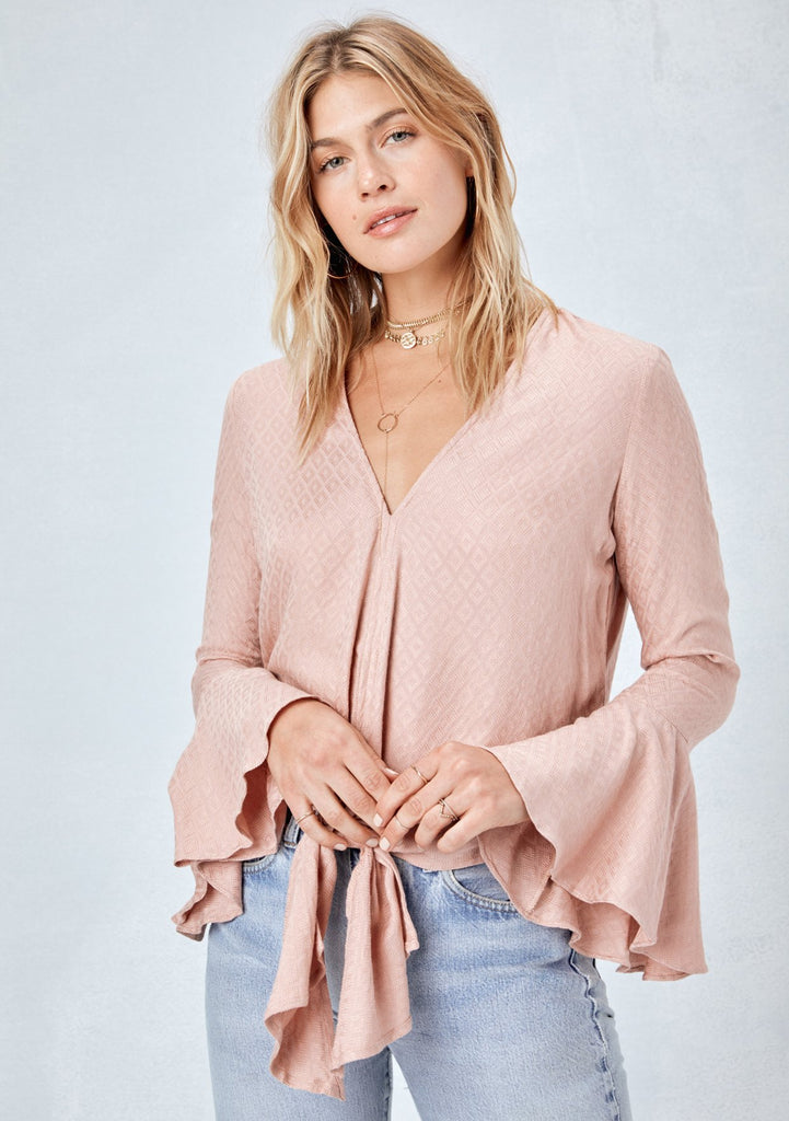 'Devlin' Bell Sleeve Top