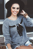 'Bevo' Fireside Sweater