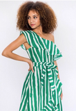 'Summer Dreams' One Shoulder Ruffle Dress