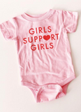 'Girls Support Girls' Onesie